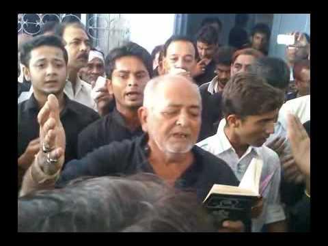 Allahabad Azadari |6th Moharram 1437H|Anjuman-e-Hussainia Qadeem|Naoha-Shabber Sa Mazloom