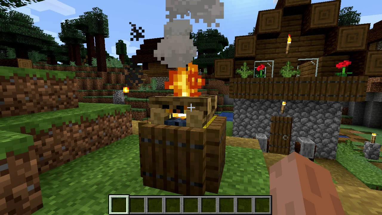Minecraft 1.14 Seed 138: New taiga village with two ...