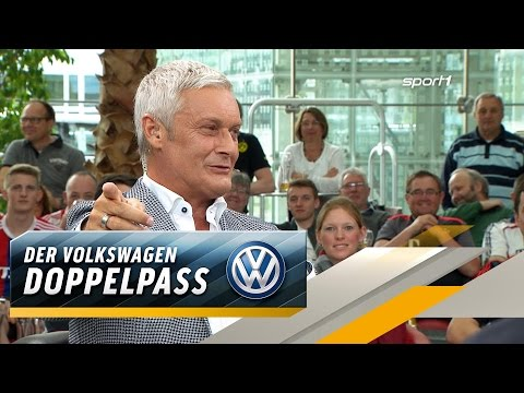 """Hast dir dein Abi gekauft"": Veh foppt Helmer | SPORT1 DOPPELPASS"