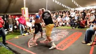 Cole Wilson fights challenger - Outback Fight Club - Kilkivan 2015.