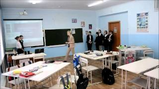 Урок английского языка на тему