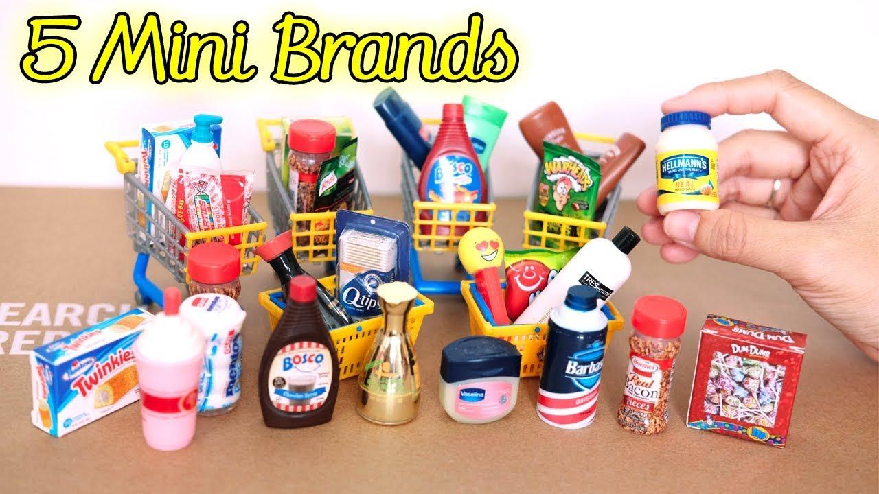 Diy Miniature Collections Zuru 5 Surprise Mini Brands Unboxing