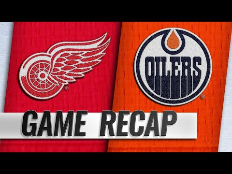 Glendening scores twice to push Red Wings past Oilers