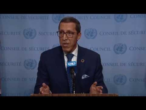 Omar Hilale (Morocco) on the situation concerning Western Sahara (28 April 2017)