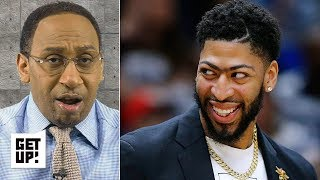 Anthony Davis can't be convinced to stay with the Pelicans, play with Zion - Stephen A. | Get Up!