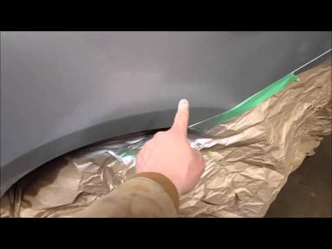Body rust repair and paint with no compressor or fancy tools! blending and more