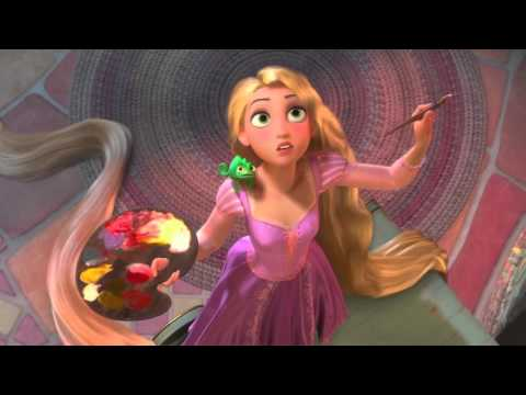 Waka waka  Shakira  RaiponceTangled  Disney