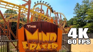 My Mind Was ERASED on the Mind Eraser Roller Coaster at Six Flags America! Front Seat POV!