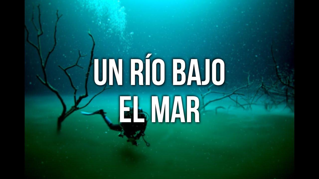 Un r o bajo el mar el 39 cenote angelita 39 youtube for Hotel bajo el agua precio