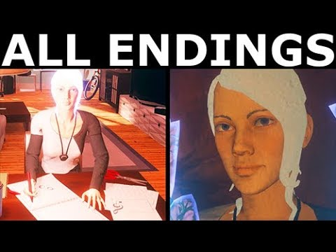 Anamorphine - Both Endings: Good u0026 Bad End - Walkthrough Gameplay (No Commentary)