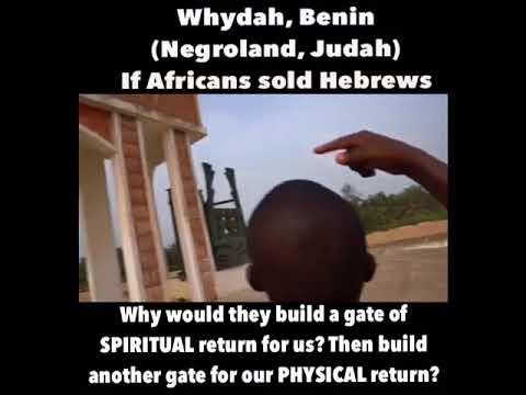 Negroland, Tribe Of Judah, (Whydah, Benin)