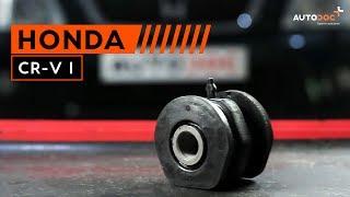 Montavimo Rėmas, stabilizatoriaus tvirtinimas HONDA CR-V: vaizdo pamokomis