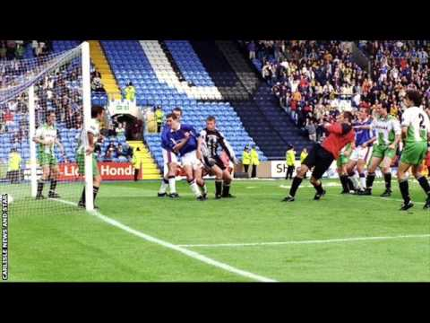 JIMMY GLASS CARLISLE UNITED GREAT ESCAPE MATCH HIGHLIGHTS RADIO COMMENTARY