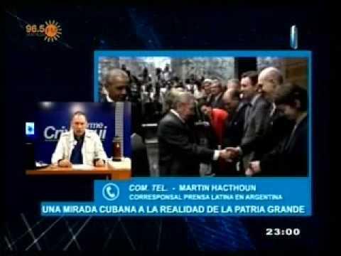 ENTREVISTA AL CORRESPONSAL CUBANO DE PRENSA LATINA