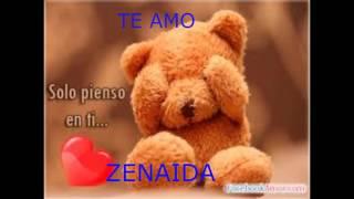 te amo zenaida