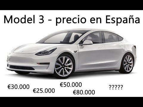 Precio del Tesla Model 3 en España