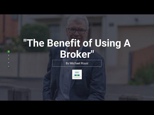 The Benefit of Using A Broker | BIR Solutions