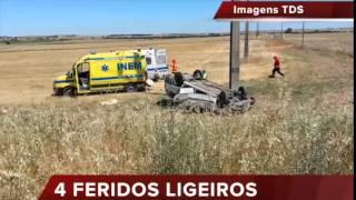 ÚLTIMA HORA: VMER DE ÉVORA AUSENTE DE DESPISTE COM 4 VÍTIMAS