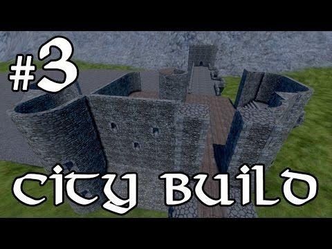 Medieval Engineers City Build - Castle Keep! #3