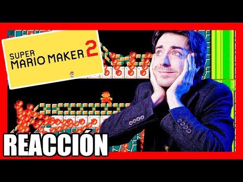 😍 REACCIÓN SUPER MARIO MAKER 2 DIRECT en ESPAÑOL (Nintendo SWITCH) 😍 2019