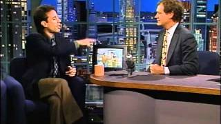 Jerry Seinfeld on Letterman - The Acting Business (1992)