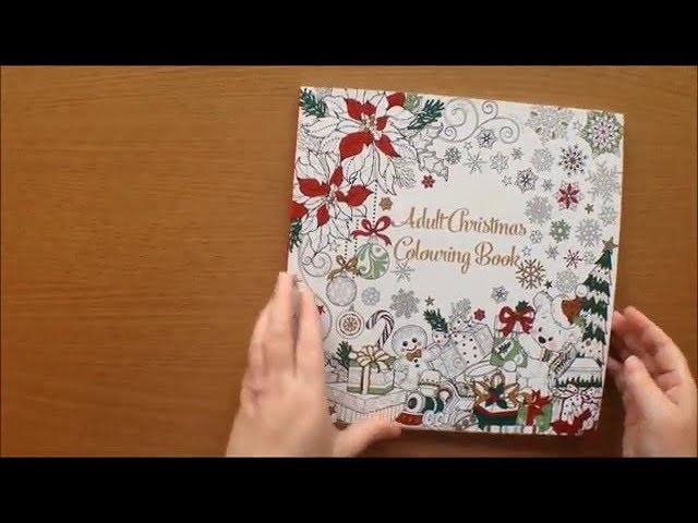 Adult Christmas Colouring Book By B M Stores Available In Uk Only Flip Through Youtube