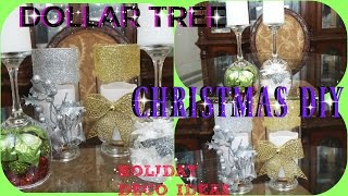 DOLLAR TREE DIY CHRISTMAS DECOR 2016 PT.3 | 4 IDEAS FOR THE HOLIDAY | PETALISBLESS🌹