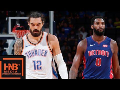 Oklahoma City Thunder vs Detroit Pistons Full Game Highlights | 03.10.2018, NBA Preseason