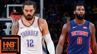 Oklahoma City Thunder vs Detroit Pistons Full Game Highlights   03.10.2018, NBA Preseason