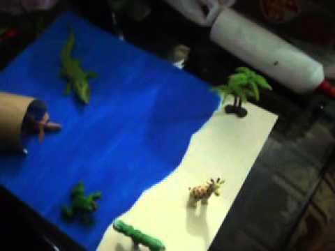 como hacer un paisaje acutico en material reciclable  YouTube