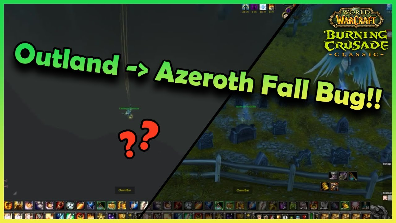Download Dude falls from OUTLAND to AZEROTH?? | Daily Classic WoW Highlights #150 |