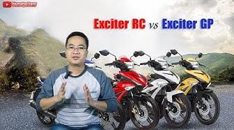 Yamaha Exciter 150 RC khác gì Exciter 150 GP ▶ Có thể bạn thừa biết!