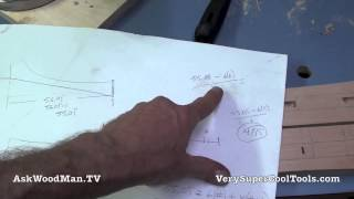 44 How To Build A Bed • Mortising For Headboard Slats