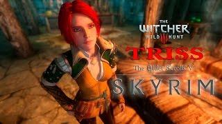 T.E.S.V. Skyrim MODS - Triss Merigold The Witcher Voiced Follower CBBE