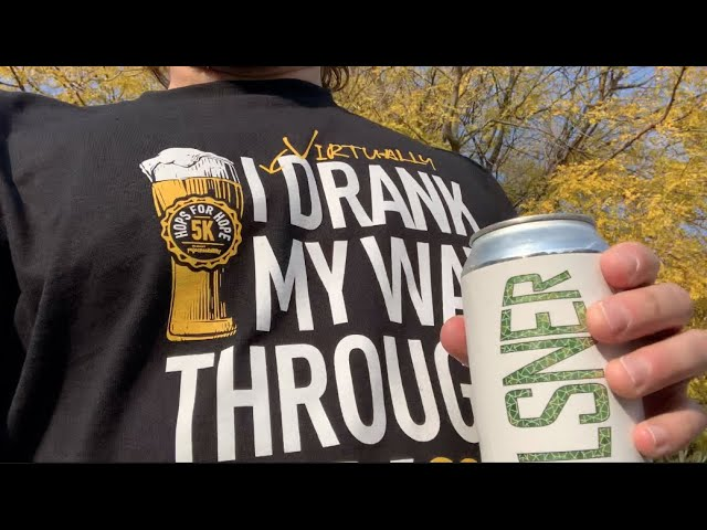 The Midwest Brew Review on Hops for Hope Virtual 5K 2020