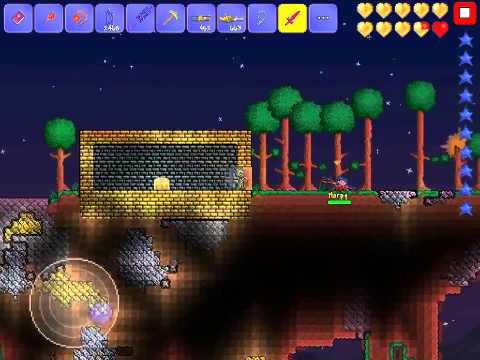 terraria how to get find a floating island