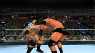 WWE Smackdown Vs Raw 2011 ps2 gameplay #3 (2/2)