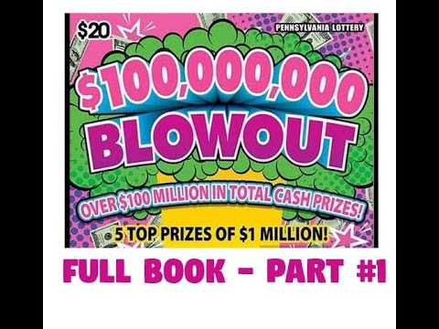 $20 $100,000,000 Blowout - FULL BOOK - Part #1 - PA Lottery