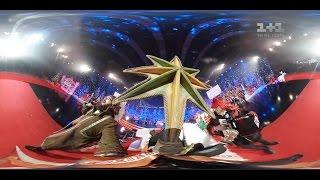 Як Дзідзьо на Карнавалі 'Світського життя' наколядував мішок ковбаси. Відео 360°