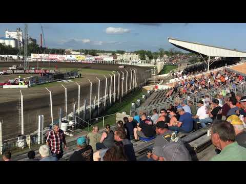 July 12th World of Outlaws Hot laps River Cities Speedway