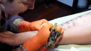 Richard Powers tattoo