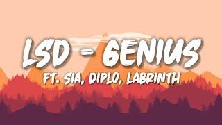 LSD - GENIUS ft. Sia, Diplo, Labrinth + Lyrics