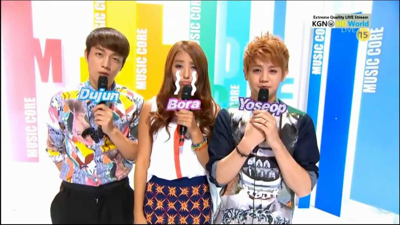 Hd 120825 Sistar Bora Music Core Special Mc Cut 6 Youtube