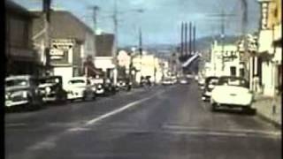 Crescent City, CA, 1947, 16mm home movie
