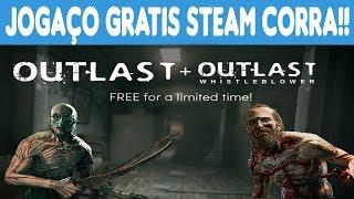 KEYS GRÁTIS DE JOGOS PAGOS DA STEAM #187 Outlast Deluxe Edition +2 • Free Steam Keys