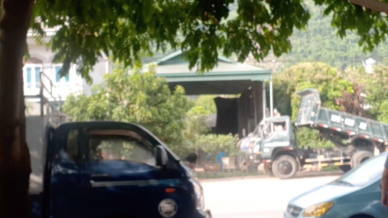 Xe Ben Thaco 3.45Ton  2 Cầu  Phanh Hơi Lok Kê  BG 156 Tr