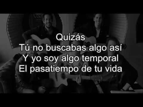 Dvicio - Quizás con letra (lyrics)