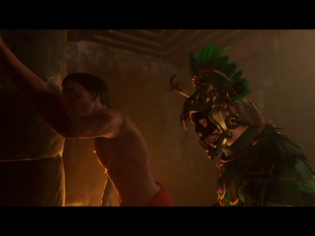 Shadow of the Tomb Raider - Stay of Execution: Help Hakan Escape: Gives Lara Reinforced Knife (2018)