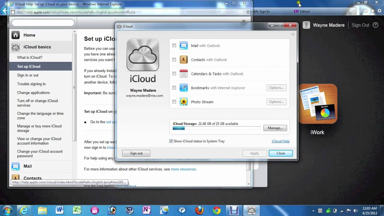 how to start download icloud photo imidieate pc