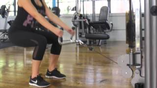 How to Do A Cable Squat | Sexyfit Coaching